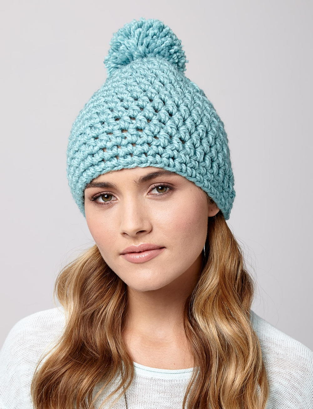Snow Drift Crochet Hat | AllFreeCrochet.com