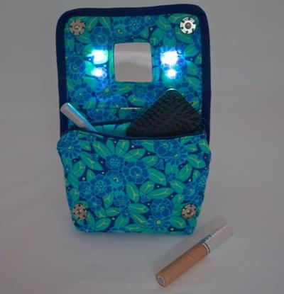 Light Up Diy Cosmetics Bag Allfreesewing Com