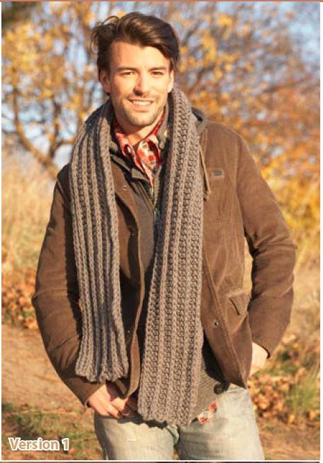 Hes The Man Crochet Scarf Allfreecrochet