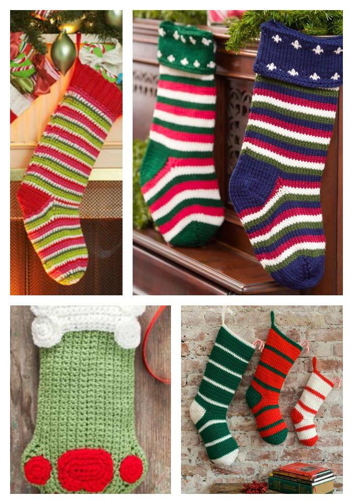 Crochet Christmas Stockings: 8 Free Patterns FaveCrafts.com