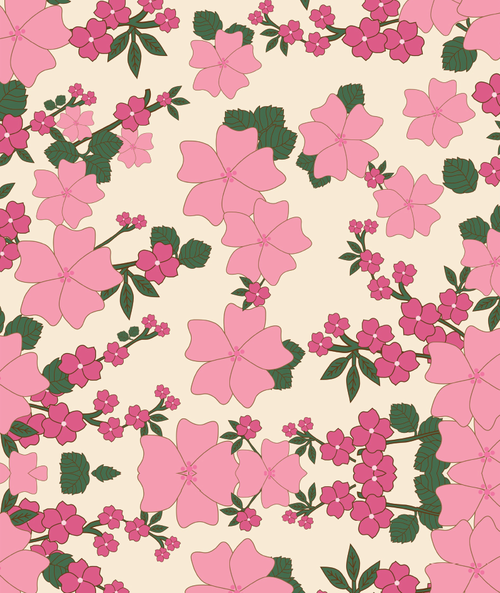 pink spring printable wrapping paper allfreepapercrafts com