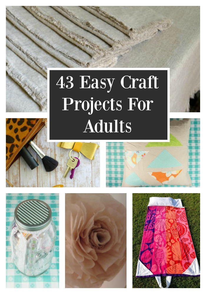 craft for adults ideas 43 easy craft projects for adults favecrafts 3778