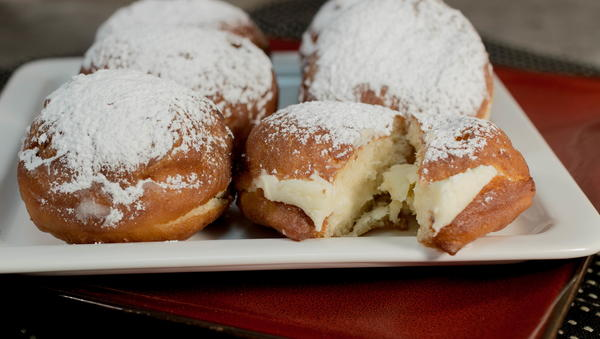 Dunkin Donuts Bavarian Cream Filled Donuts Copycat