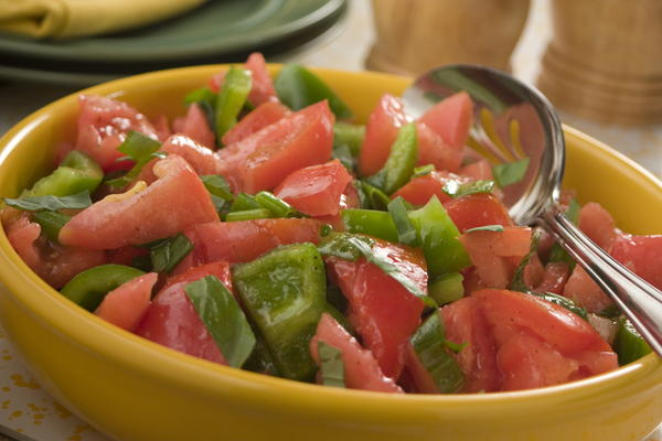 My Favorite Tomato Salad