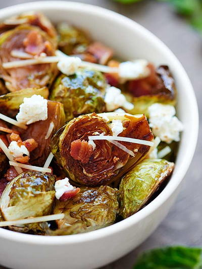 The Best Roasted Brussels Sprouts
