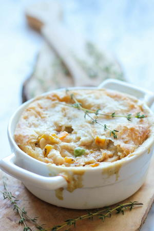 Hearty Leftover Turkey Pot Pie