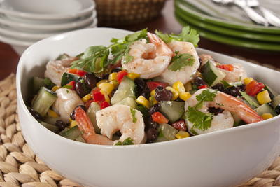 EDR Cilantro Shrimp Salad