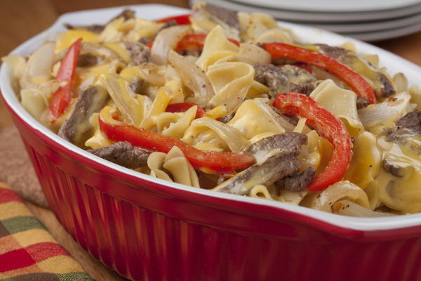 Cheese Steak Casserole
