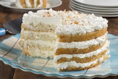 EDR Coconut Cake