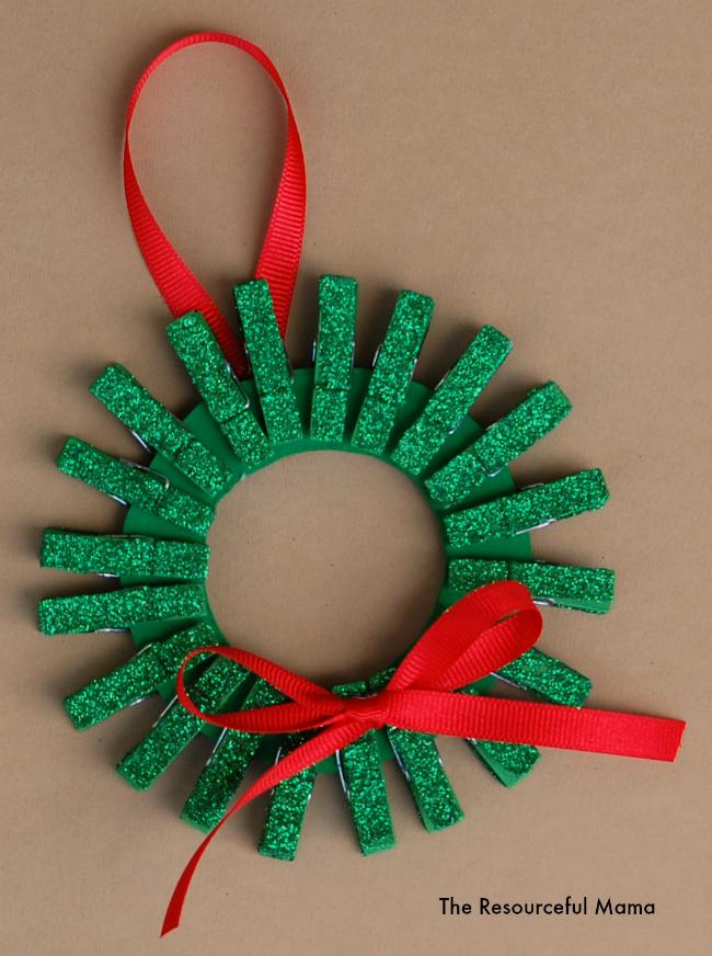 how to make craft christmas baskets for kids