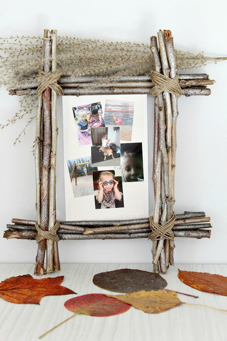 Diy Rustic Photo Frame Favecrafts Com