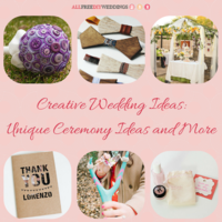 88+ Creative Wedding Ideas: Unique Wedding Ceremony Ideas and More