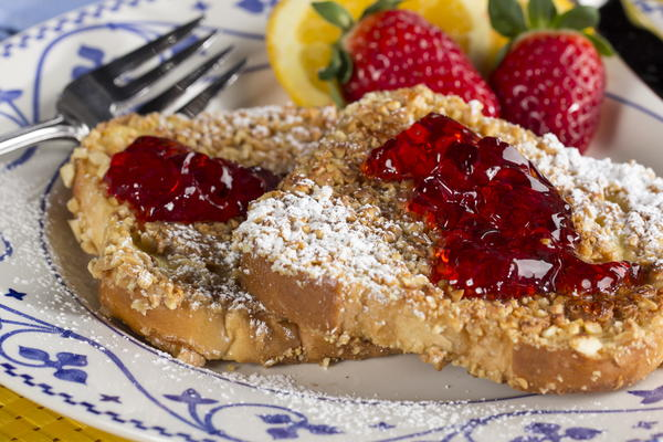 PB  J Crunchy French Toast