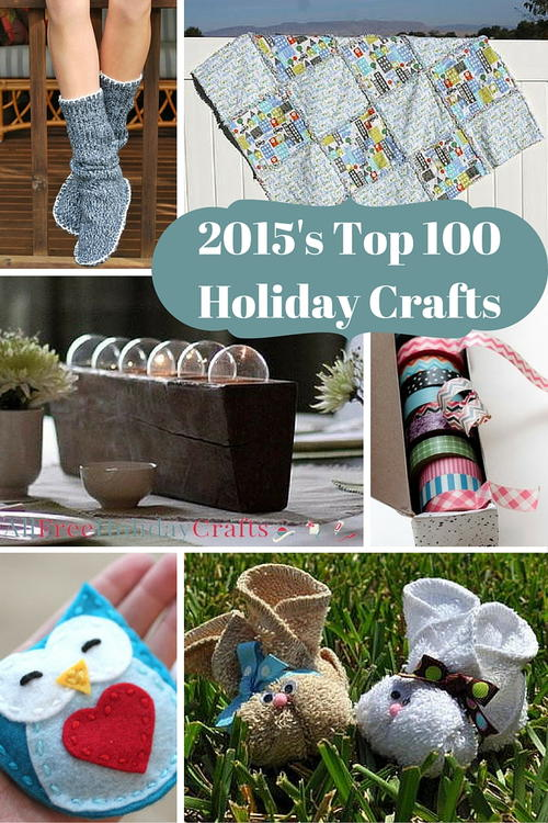 Top 100 Holiday Craft Ideas of 2015
