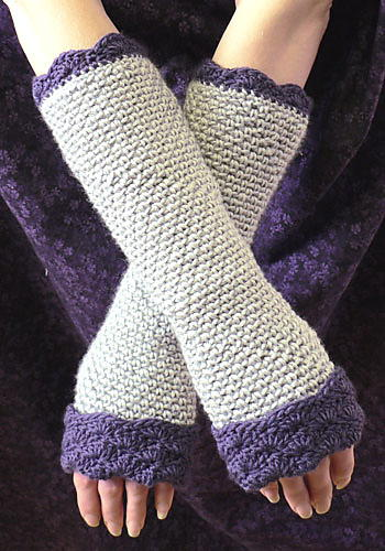Quick And Easy Fingerless Gloves Allfreecrochet
