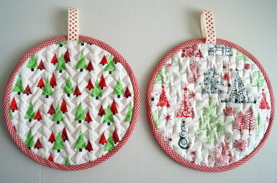 Festive Pot Holder Pattern