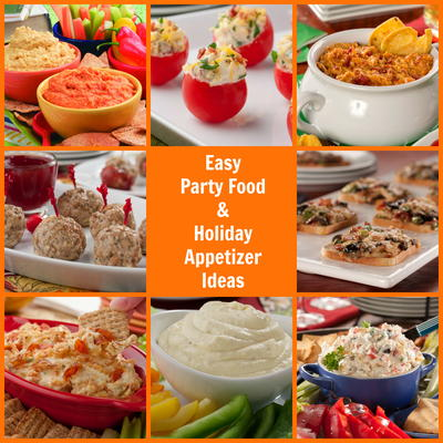 16 easy party food and holiday appetizer ideas mrfood need a few easy party appetizers that are easy to make easy on the eyes and taste delicious well youve come to the right place forumfinder