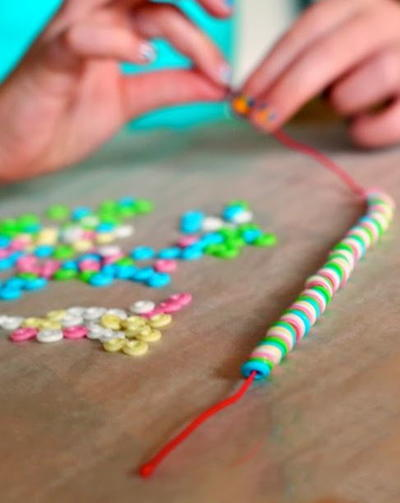 Marvelous Melted Bead Necklaces