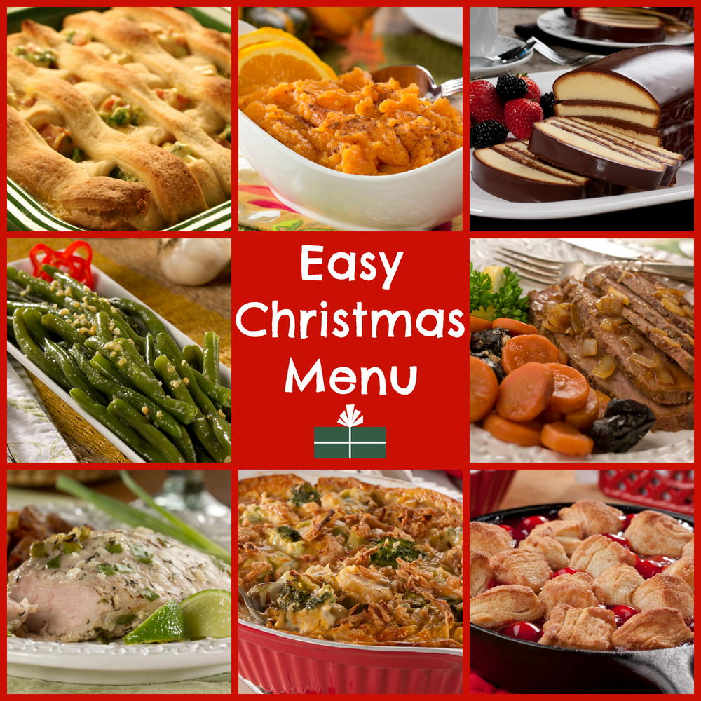 Christmas Dinner Menu Ideas.Grocery Shopping For Your Holiday Recipes Mr Food S Blog