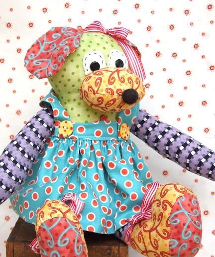Teddy Bear Apron Sewing Pattern | AllFreeSewing.com