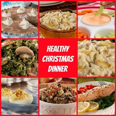 healthy christmas dinner menu mrfood com