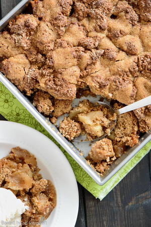 Simply Fantastic Apple Cobbler