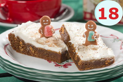 Grams Gingerbread Cookie Bars