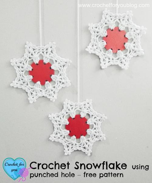 Wonderland Crochet Snowflake Pattern Favecrafts