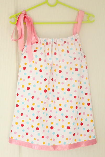 Little Pillowcase Dress Sewing Pattern   AllFreeSewing.com