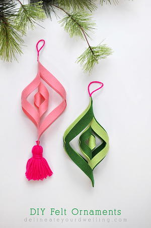 123 easy christmas crafts for adults favecrafts lovely dove diy ornament felt mobile ornaments solutioingenieria Choice Image