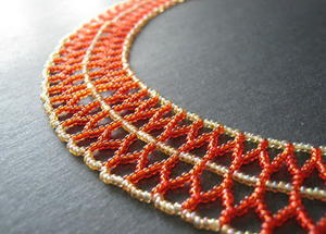 Curved Double Chevron Chain