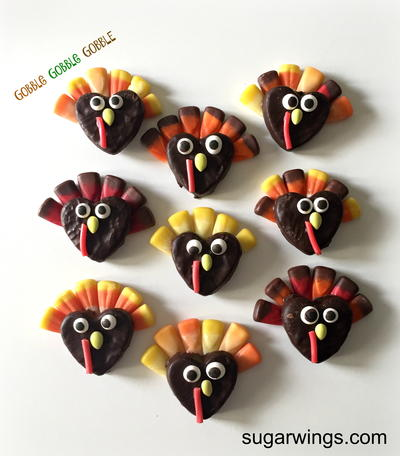 Homemade Candy Turkeys