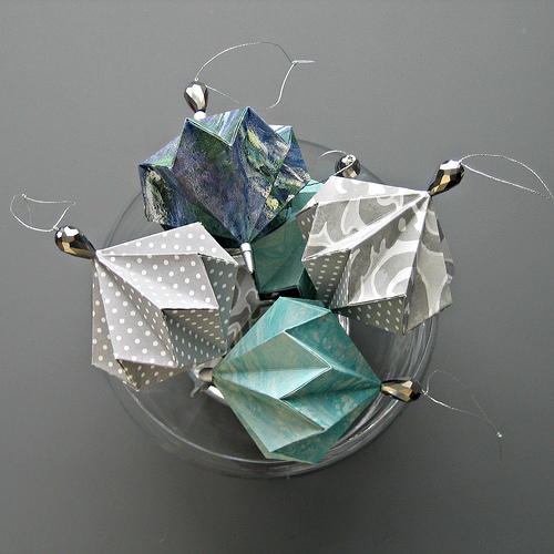 Picture Of Diy Origami Ornaments: Year-Round Decorative DIY Ornaments