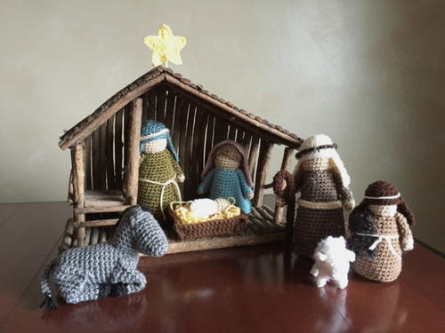 Crocheted Nativity Set Allfreecrochet