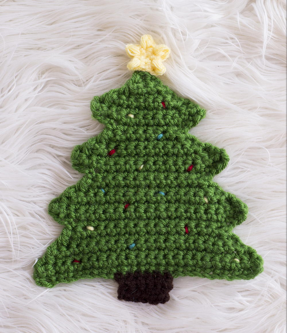 Easter Pot Holders Crochet: Christmas Tree Pot Holder Pattern