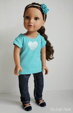 American Girl-Inspired Jeans and Skirt Pattern