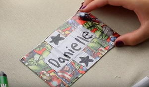 DIY Luggage Tag for Kids