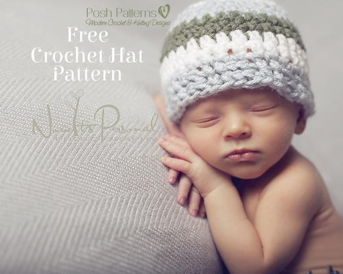 Sweet Crochet Baby Hat Allfreecrochet