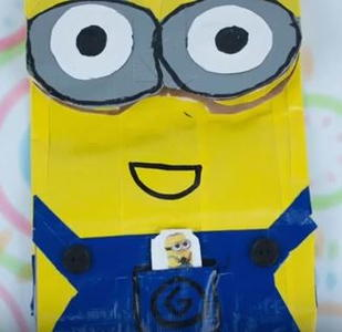 Duct Tape Minion Bag
