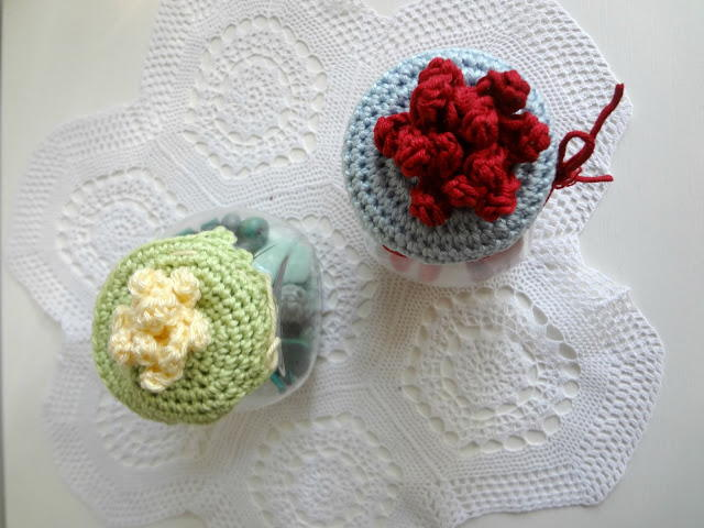 Quick Crochet Jar Lid Cover Allfreecrochet