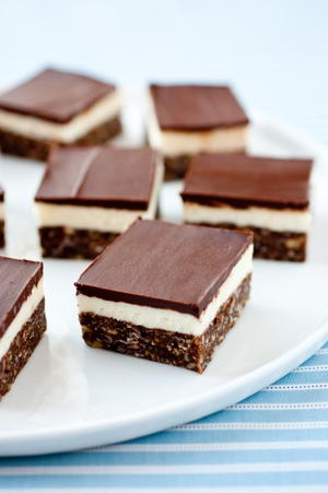 3-Layer No Bake Dream Bars