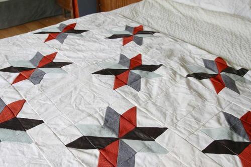 Easy Star Quilt Pattern | FaveQuilts.com : easy star quilt - Adamdwight.com