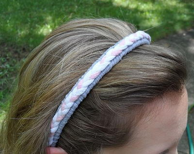 Thrifty Tee Shirt Headband