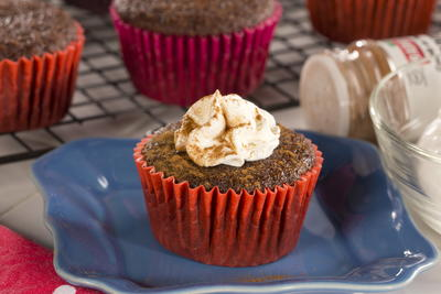 EDR Ginger Spice Cupcakes