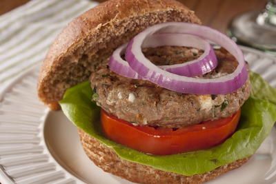 EDR Greek Lamb Burgers