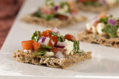 EDR Greek Salad Cracker Snack