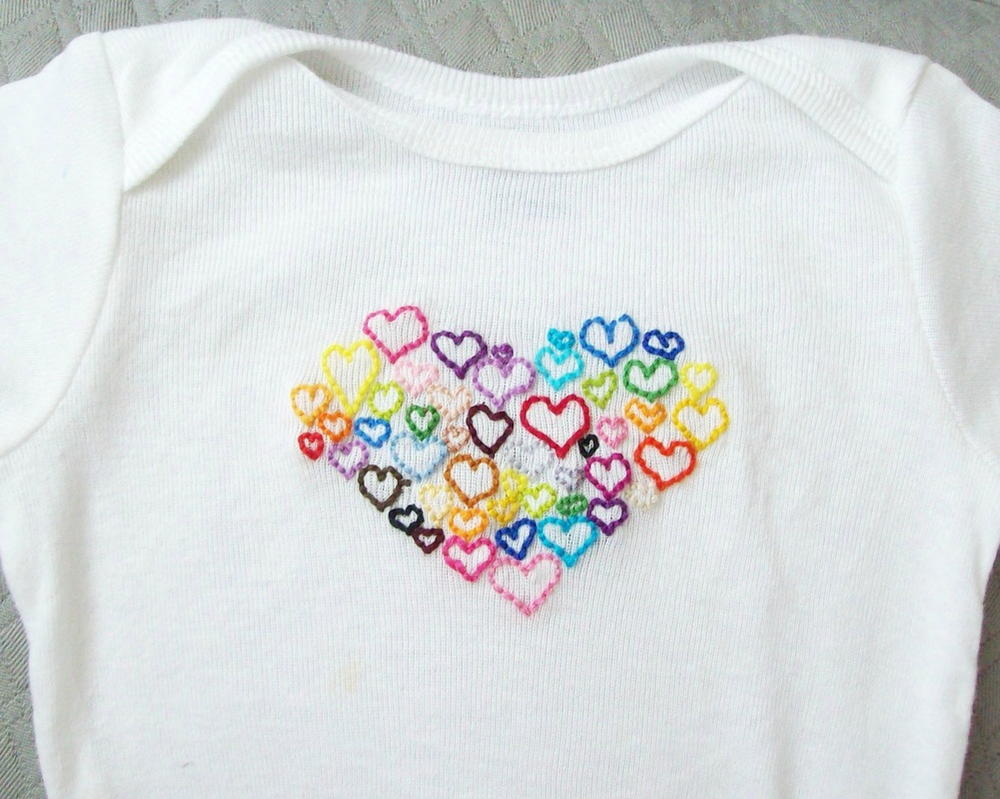 Little Lovers Onesie Sewing Pattern | AllFreeSewing.com