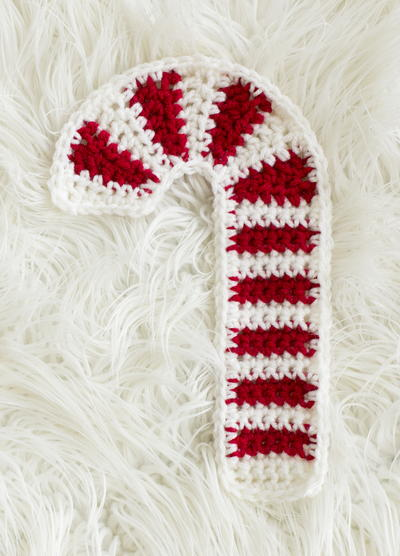 40 Knit Candy Cane Crafts Homemade Gifts For The Holidays Custom Making Large Candy Cane Decorations