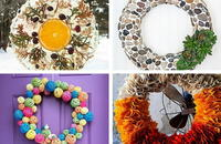 How to Make Homemade Wreaths for Every Season