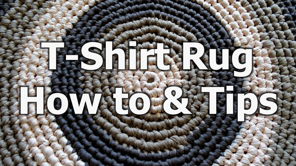 T Shirt Yarn Rug Allfreecrochet Com